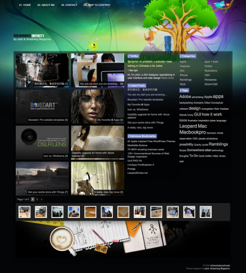 indefinity wp theme