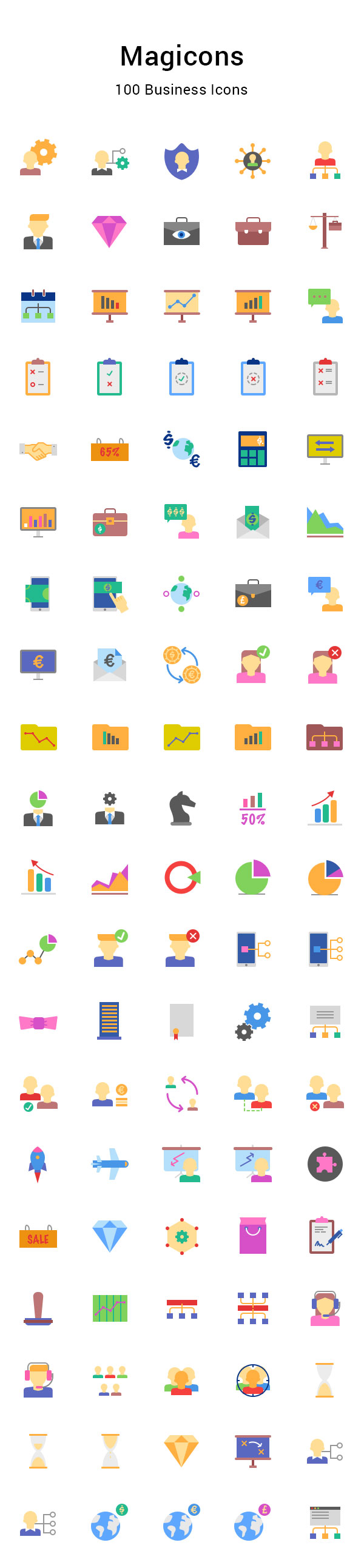 business free icons